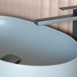 rubinetteria lavabo forme qudrate